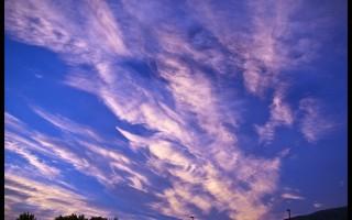 Utah summer sky
